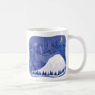 Seattle Landscape with Mount Rainier Coffee Mug
