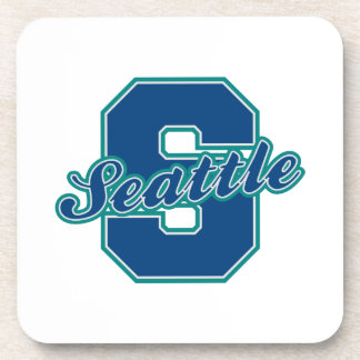 Seattle Letter Coasters