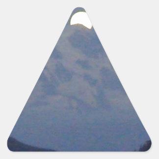 SEATTLE - MOUNT RAINIER TRIANGLE STICKERS