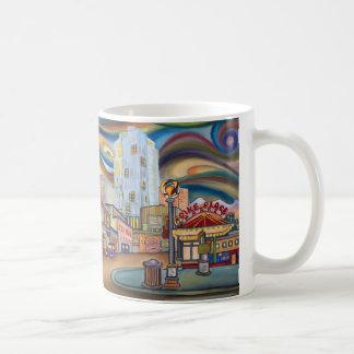 Seattle. Pike Market at night. Coffee Mug