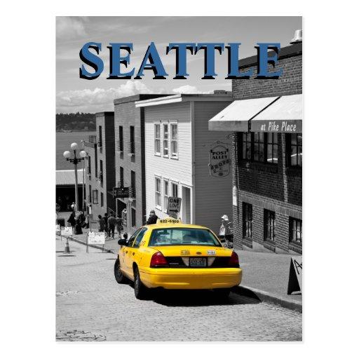 Seattle Pike Place postcard
