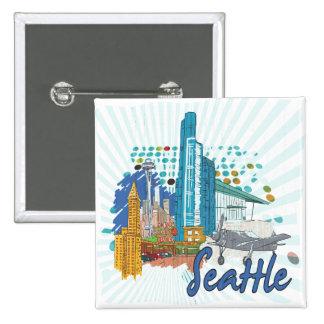 Seattle Pin