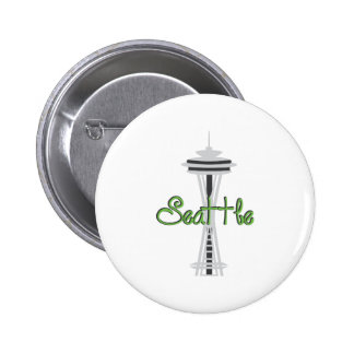 Seattle Chapa Redonda 5 Cm