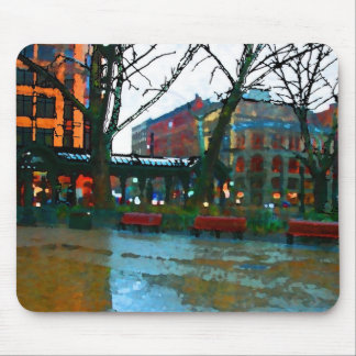 Seattle - Pioneer Square Mouse Pad