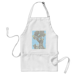 Seattle Playing Cards Adult Apron