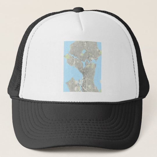Seattle Playing Cards Trucker Hat