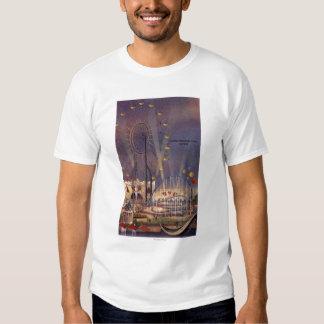 Seattle, poster de la feria de mundo camisas