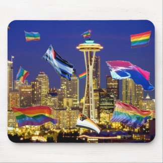 Seattle Pride Mouse Pad