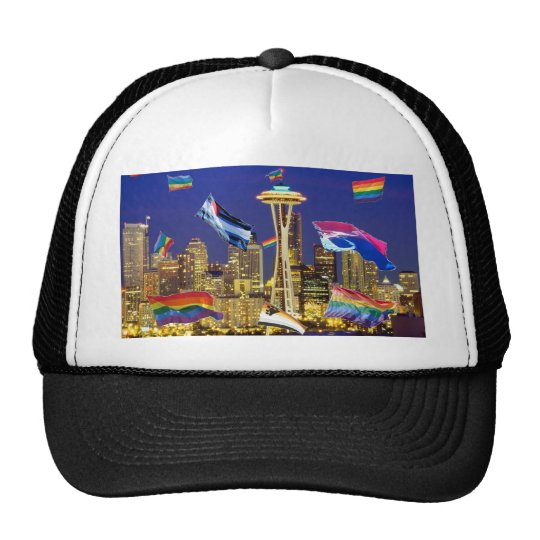 Seattle Pride Trucker Hat