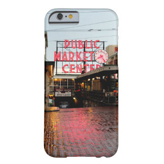 Seattle Public Market Barely There iPhone 6 Case