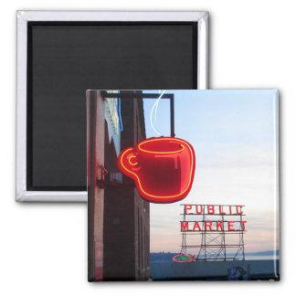 Seattle Public Market Magnet
