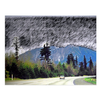 Seattle Rain Post Cards