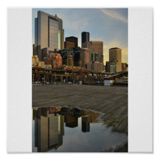 Seattle Reflections Print