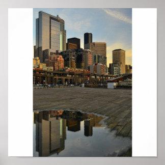 Seattle Reflections Print