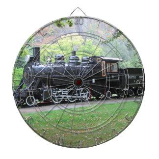 Seattle Retired Railroad Train Engine Dart Board