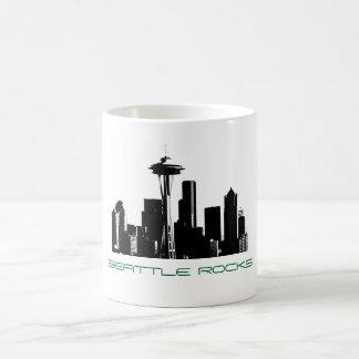 SEATTLE ROCKS COFFEE MUGS
