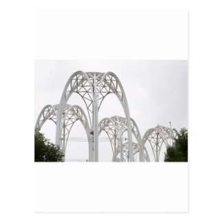 Seattle Science Center Arches Postcard