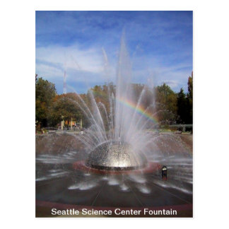 Seattle Science Center Fountain Card