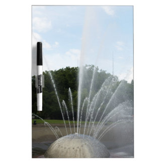 Seattle Science Center Fountain Dry Erase Boards