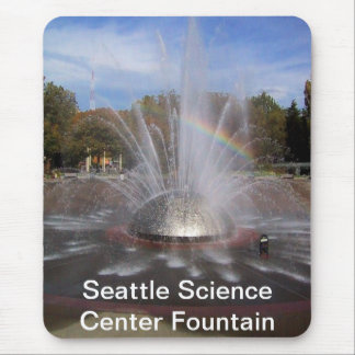 Seattle Science Center Fountain Mouse Pad