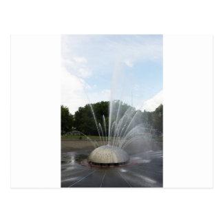 Seattle Science Center Fountain Postcard