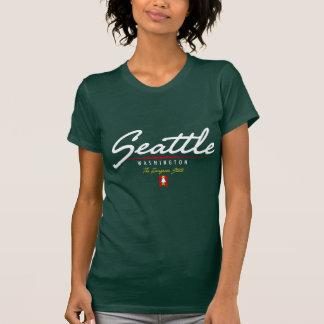 Seattle Script Tshirt