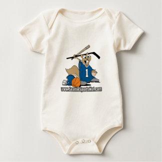 Seattle se divierte la nuez traje de bebé