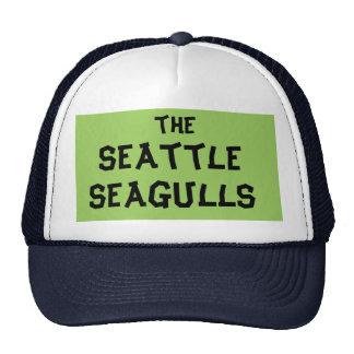 seattle seagulls trucker hat