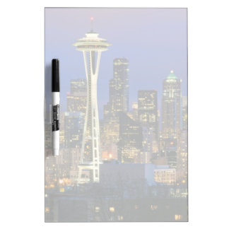 Seattle seen from Kerry Park in Queen Anne Dry-Erase Board