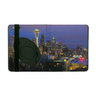 Seattle seen from Kerry Park in Queen Anne iPad Cover