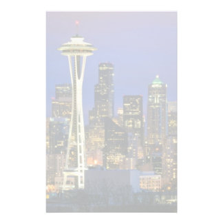 Seattle seen from Kerry Park in Queen Anne Stationery