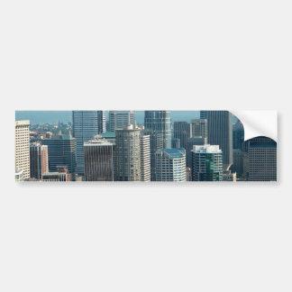 Seattle Sky Bumper Stickers