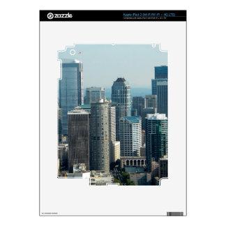 Seattle Sky iPad 3 Decals