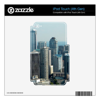 Seattle Sky iPod Touch 4G Skins