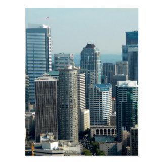 Seattle Sky Postcard
