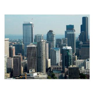 Seattle Sky Post Card