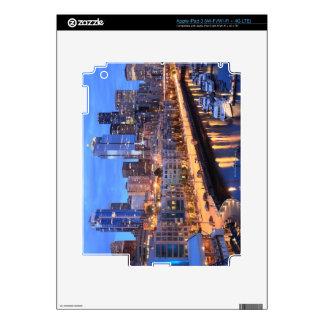 Seattle skyline and harbor, Washington State iPad 3 Decals