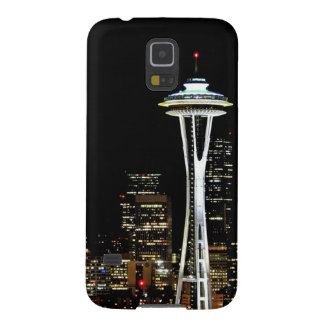 Seattle skyline at night, with Space Needle. Case For Galaxy S5