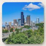 Seattle Skyline Beverage Coaster