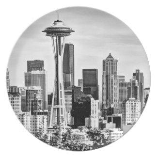 Seattle Space Needle Plates Zazzle