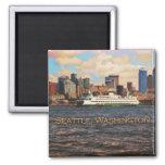 Seattle Skyline Fridge Magnet
