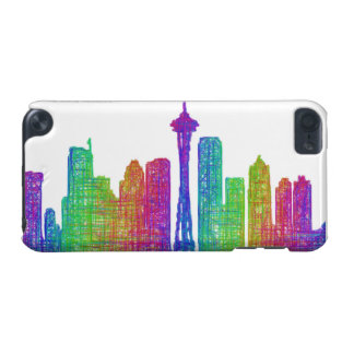 Seattle skyline iPod touch 5G cover