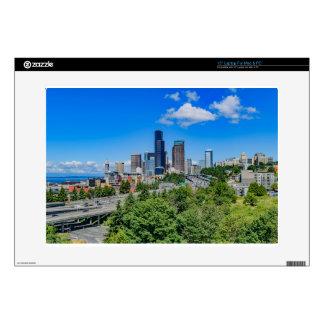 Seattle Skyline Laptop Decal