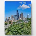 Seattle Skyline Plaque