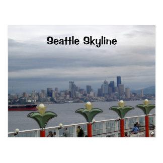 Seattle Skyline Postcard