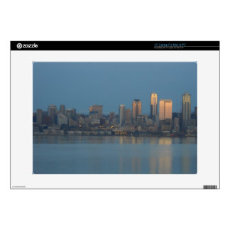 "Seattle skyline skin for 15"" laptop"