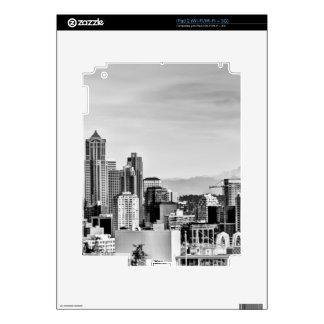 Seattle Skyline Skin For The iPad 2