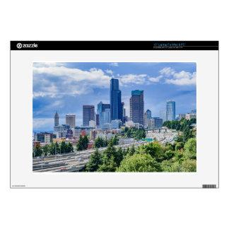 Seattle Skyline Skins For Laptops