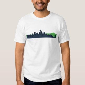 Seattle Skyline   T-shirts