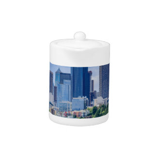 Seattle Skyline Teapot